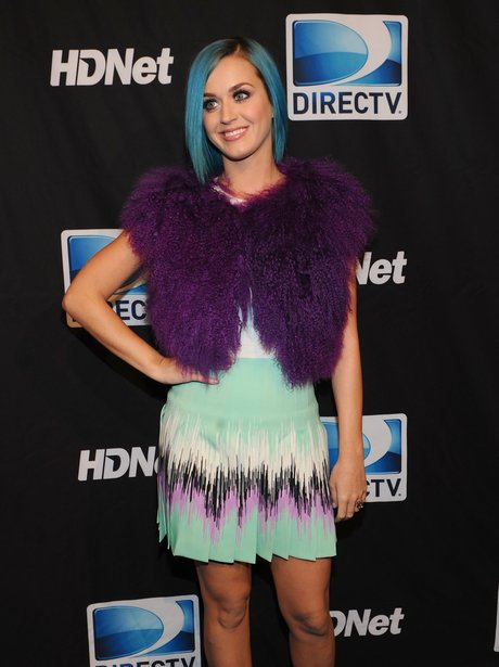 Katy Perry attends Beach Bowl