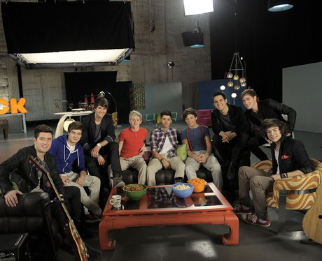 One Direction with Big Time Rush