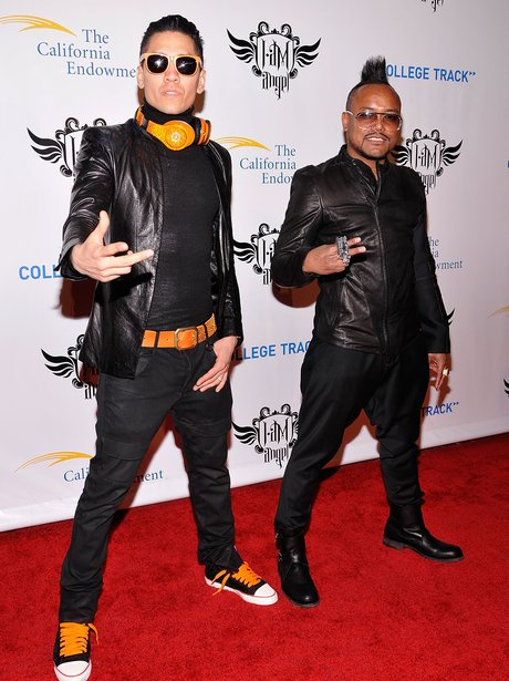 Taboo and apl.de.ap on the red carpet