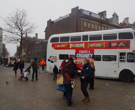 The Kit Kat Champion Piccadilly Gardens