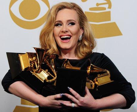 Adele at the Grammy Awards 2012