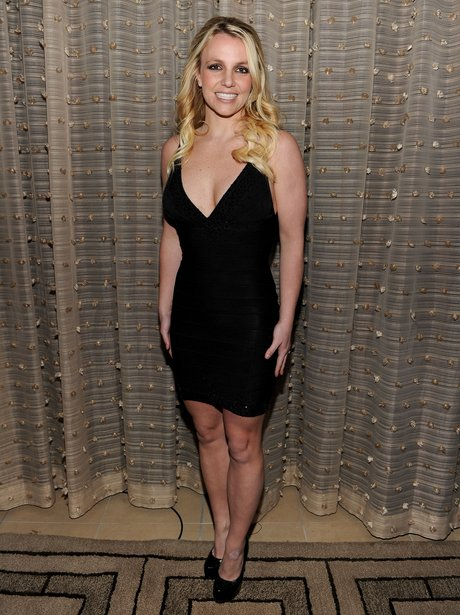 Britney Spears attend Pre Grammy event
