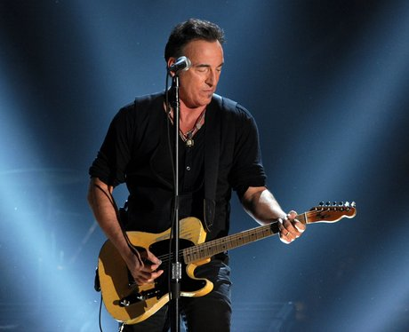 Bruce Springsteen performs at Grammy Awards