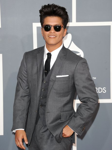 Bruno Mars at the Grammy Awards 2012