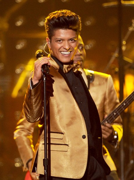 Bruno Mars performance at Grammys