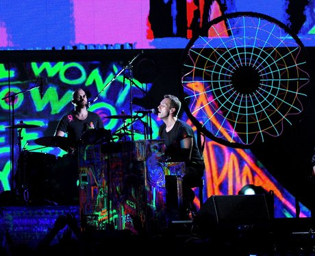Chris Martin live at the 2012 Grammy Awards
