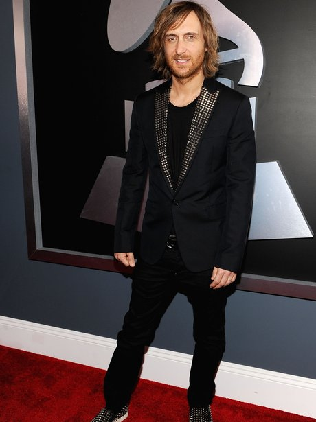 David Guetta at Grammy Awards 2012
