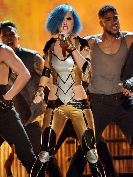 Katy Perry performs at the Grammy Awards