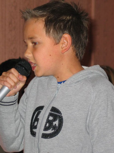 Liam Payne before he was famous - childhood baby picture
