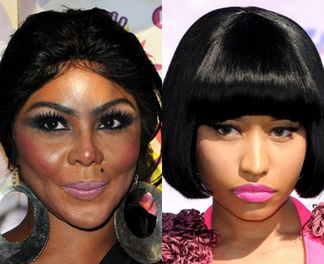 Lil Kim and Nicki Minaj