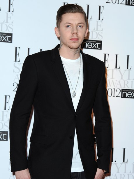 Professor Green at the ELLE Style Awards