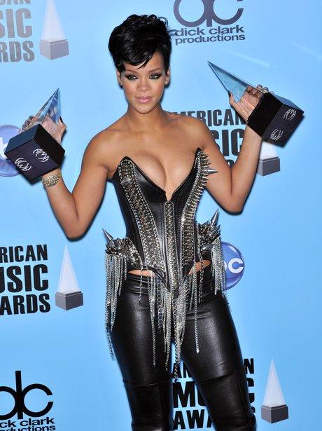 Rihanna at American Music Awards
