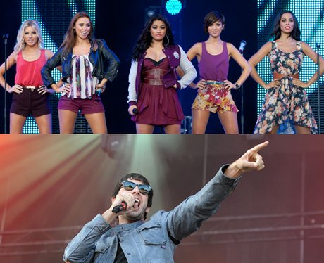 The Saturdays and Example