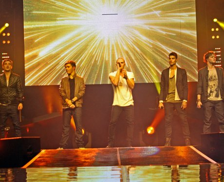 The Wanted live on stage