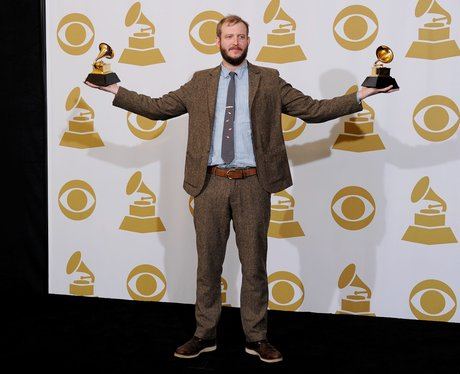 Bon Iver  at the Grammy Awards 2012