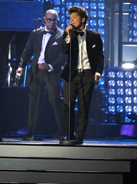 Bruno Mars BRIT Awards 2012