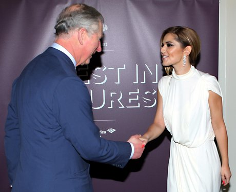 cheryl cole meets prince charles 2012
