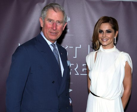 Cheryl Cole and the Prince Of Wales