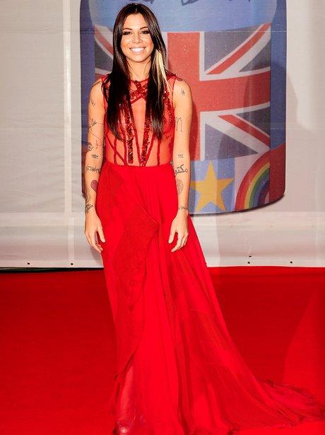 Christina Perri BRIT Awards 2012