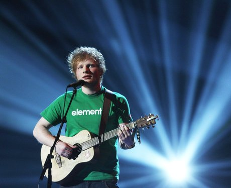 Ed Sheeran Live At The BRIT Awards 2012