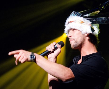 Jamiroquai performing