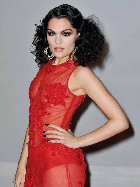Jessie J arrives at the BRIT Awards 2012