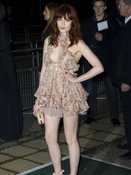 Florence Welch BRIT Awards aftershow