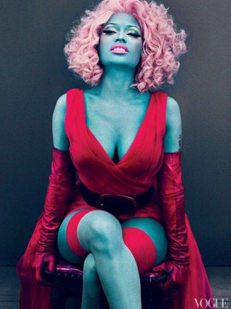 Nicki Minaj Vogue Magazine