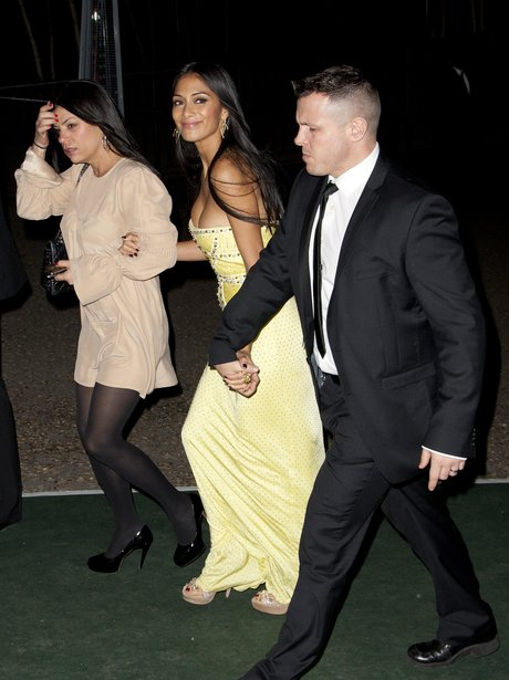 Nicole Scherzinger BRIT 2012 Afterparty