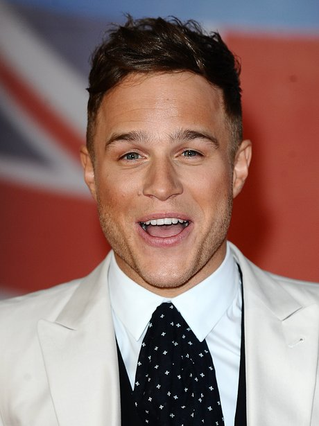 Olly Murs arrives at the 2012 BRIT Awards.
