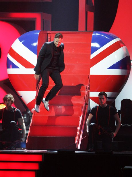 live at the BRIT Awards 2012