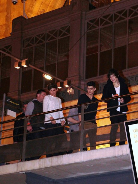 One direction in Paris