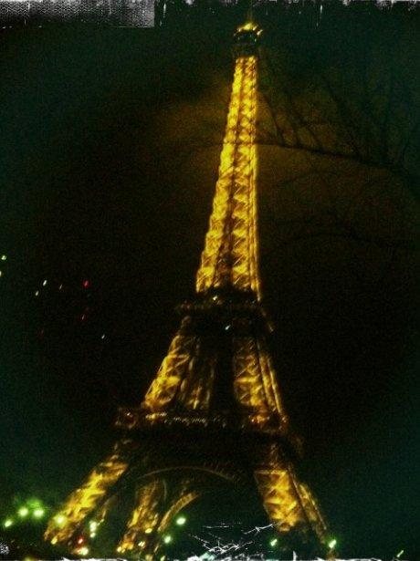 One Direction visit Paris