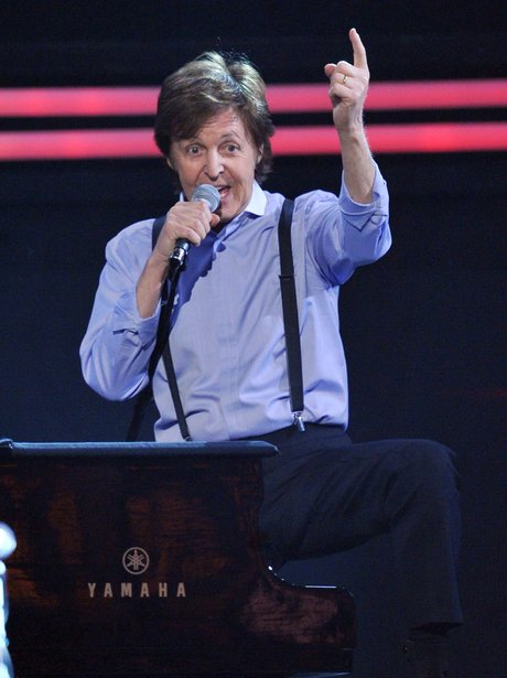 Paul McCartney at the Grammy Awards 2012