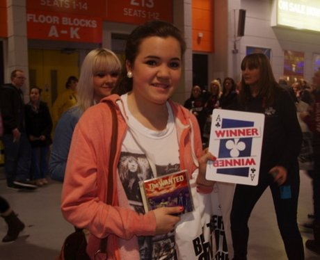 The Wanted Visit Manchester Arena