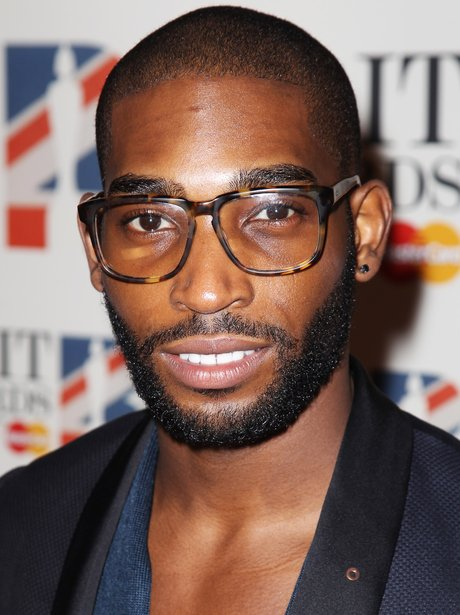 Tinie Tempah arrives at the BRIT Awards 2012