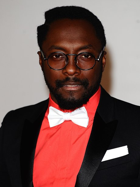 Will.i.am arrives at the BRIT Awards 2012
