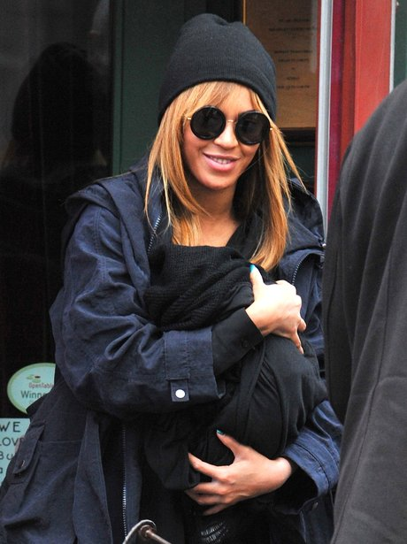 Beyonce and Blue Ivy step out
