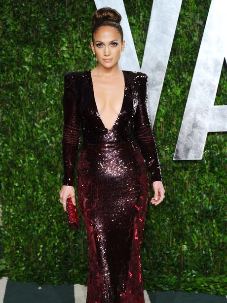 Jennifer Lopez at the Vanity Fair Oscar Party 2012