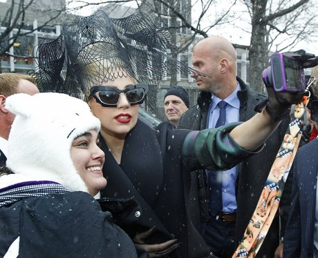 Lady Gaga at Harvard