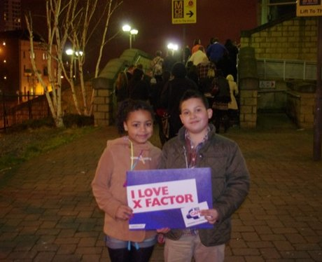 Xfactor Live at Manchester Arena