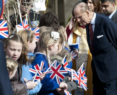 Royal visit to Leicester