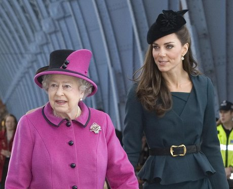 The Queen and Duchess of Cambridge