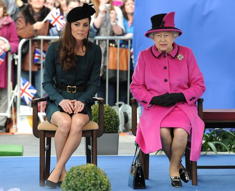 The Queen and Dutchess of Cambridge