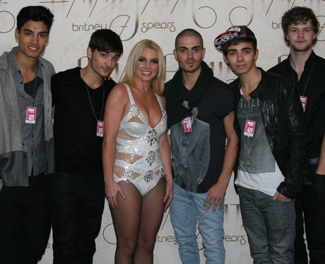 The Wanted and Britney Spears
