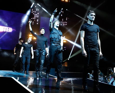 The Wanted live on