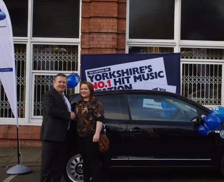 Harriet from Beverley managed to bag herself VW UP
