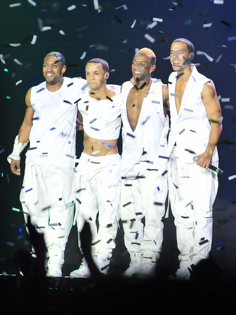 JLS perform on their '4th Dimension Tour'