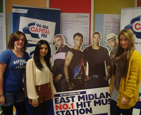 JLS in Nottingham