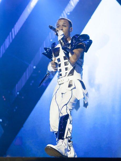 JLS perform live on tour